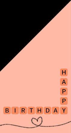 Happy Birthday Template, Happy Birthday Frame, Happy Birthday Posters, Happy Birthday Wallpaper, Birthday Posts, Creative Instagram Photo Ideas, Photo Instagram, Instagram Quotes, Birthday Captions Instagram