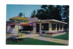 Big Rapids Michigan Wildlife Restaurant Divided Back Photochrome  Postcard