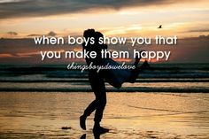 When boys show you that you make them happy Get A Boyfriend, My Future Boyfriend, Perfect Boyfriend, To My Future Husband, Perfect Guy, Boyfriend Ideas, Dear Future, Quotes About Love And Relationships, Relationship Quotes