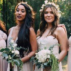 5sos Girlfriends, Bridesmaid Dresses, Wedding Dresses, Girl Crushes, My Girl, Mom, Crystal, Random, Girls