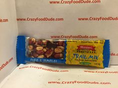 Crazy Food Dude Review: Mariani Trail Mix Honey Bar