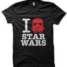 I Love Star Wars t-shirt by Clique Wear