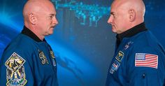NASA twins show that space flight changes human genes - Album on Imgur
