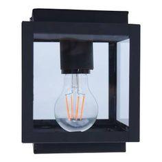Plafondlamp Loft vintage black