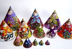 printable nesting dolls to colour-For our Rebecca meeting (Russian heritage)