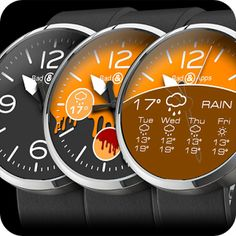 Download BadApps B&A Full Watch Face APK - http://apkgamescrak.com/badapps-ba-full-watch-face/