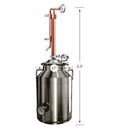 8 Gallon Stainless / Copper Still