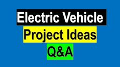 Electric Vehicle, Electric Cars, Electrical Projects, Project Ideas, Automobile, Vehicles, Car, Ideas For Projects, Autos