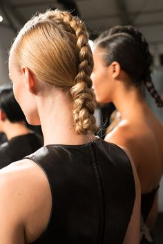 Hair by @Redken Canada #Hairstyle #Braids #FashionWeek
