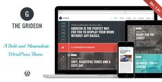 Deals Grideon - Responsive Creative WordPress Themetoday price drop and special promotion. Get The best buy