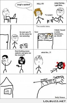 Le Spider saved my life…LIKE A BOSS