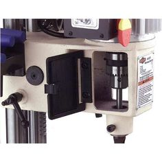 Grizzly G0645 and Shop Fox W1671 Benchtop Mortising Machine - RobotDigg Mortise Chisel, Mortising Machine, Cast Iron, It Cast, Support Columns, Chisel Set, Model Shop, Sanding Block, The Struts