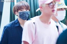 Jungkook ❤ Heading back to Korea #BTS #방탄소년단 are back in Korea now! They made it through that crazy airport!