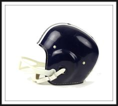 Vintage Sporting Equipment Photography- Football Helmet