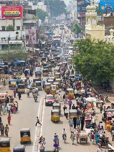 Fascinating Hyderabad - http://www.travelandtransitions.com/destinations/destination-advice/asia/