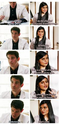 I've never even seen the mindy project but this just cracked me up!!! : D