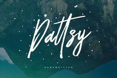 Dattsy Signature Brush Font by Maulana Creative on @creativemarket