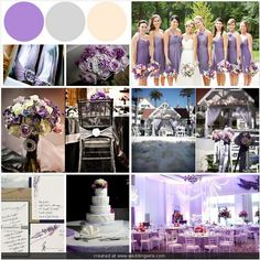 71 best Purple & Grey Wedding Inspiration images on Pinterest ...