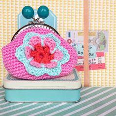 Ak at home : crochet * portemonnee