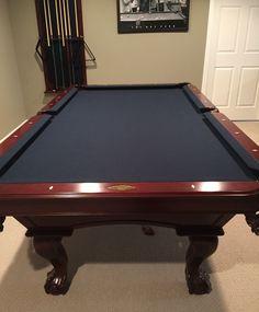 Brunswick Ventura Pool Table Pro Install New Cloth Any Color Kit - Brunswick bradford pool table