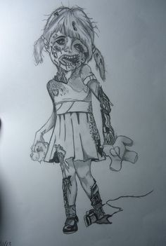 Something I did after watching The Walking Dead!