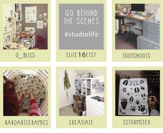Instagram :: Go Behind the Scenes with #studiolife — @Elite16 :: Collected & Curated Handpicked Etsy