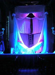 The Snow Queen theatre set by Olan Wrynn