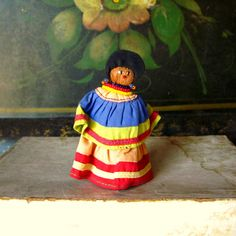 Vintage Seminole Indian Doll Native by GreenLeavesBoutique on Etsy, $15.00