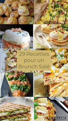 29 Recettes pour un Brunch Salé - Health and wellness: What comes naturally Fingers Food, Gourmet Recipes, Snack Recipes, Brunch Buffet, Brunch Food, Brunch Party, Brunch Wedding, Brunch Ideas, Healthy Snacks