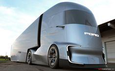 Ford Reveals Futuristic F-Vision Autonomous Truck Concept Futuristic Technology, Futuristic Cars, Big Rig Trucks, Cool Trucks, Concept Motorcycles, Future Trucks, Ford, Truck Design, Camping Car