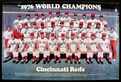 We have here a complete Cincinnati Reds Team History in Major league Baseball. See here regularly all their baseball seasons, players & titles. Baseball Season, Baseball Players, Baseball Cards, Baseball Photos, Sports Baseball, Pete Rose, Cincinatti, Mlb, Johnny Bench