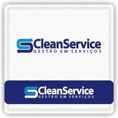 Arte campeã do projeto Clean Service Gestão em Serviços #logovia #logodesign #logomarca