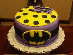 Batman cake for girls made by SevenEves