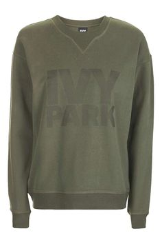 Logo Peached Sweat by Ivy Park - New In- Topshop - Size M