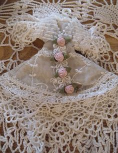 Lacy Dress Christmas Ornaments. Have it