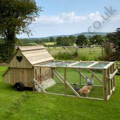 Dorset Ranger Six Chicken Coop with 6ft Run