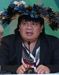"""Meet the extraordinary Chieftain of the Paiter Surui Tribe of the Amazon Forest in Brazil, Almir Narayamoga Surui. He became Chief of their tribe at the tender age of 17. He literally put his life at risk when he began the fight against illegal logging. """"Let's help save the forest. Do what is within your reach, to your capacity; that is the responsibility of each of us."""" Almir Narayamoga Surui http://www.thextraordinary.org/almir-narayamoga-surui"""