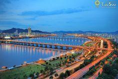 Han River, seoul, korea