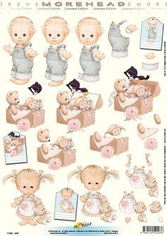 Doer Maar Cut out sheet children 11 052 203 - Children 3d Paper Art, Paper Crafts, Tales Of Vesperia, 3d Sheets, Image 3d, Sketch 2, 3d Cards, Project 3, Scrapbook Cards