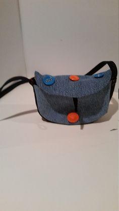 Denim Mini Shoulder Bag by LadyInStitches on Etsy