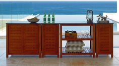 Canella Single Cupboard With Granite Top