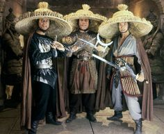 "theactioneer: ""Peter Kwong, Carter Wong & James Pax, Big Trouble in Little China "" Cult Movies, Sci Fi Movies, Action Movies, James Hong, China Movie, Kim Cattrall, Shadow Warrior, Warrior 2, Hero Movie"