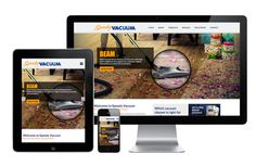 Check out our latest responsive web design project for Saskatoon-based Speedy Vacuum! Web Design Projects, Responsive Web Design, Vacuums, Website, Vacuum Cleaners
