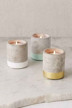 Paddywax Small Concrete Candle - Urban Outfitters