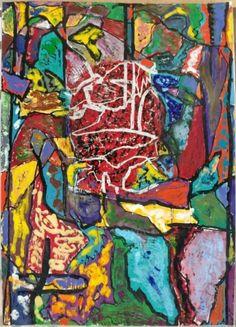JIM DINE Big Arms, Big Shoulders 2016 Woodcut with hand coloring on Japan Daitoku paper 66-3/4″ x 49-1/2″ (169.9 x 125.8 cm) Edition of 12 Jonathan Novak Contemporary Art, Los Angeles http://novakart.com/artists/jim-dine/