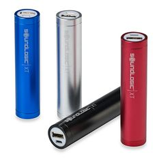 Sound Logic XT Portable 2600 mAH Rechargeable Power Cell - charge mobile devices with USB