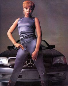 Mary J Blige, Rolling Stone, 1993.