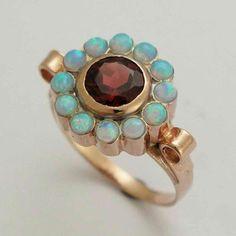 rose gold ring with gem - Bing Images
