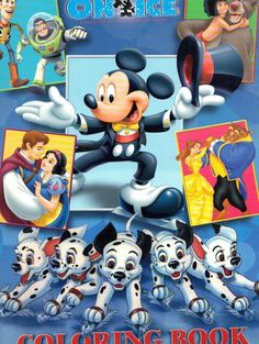 Disney on ice coloring book | My childhood toys | Pinterest ...