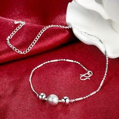 Like and Share if you want this  Silver Beads charm Anklets For Women Ankle Bracelet Foot Jewelry Barefoot Sandals Anklets Leg Chain Bracelet Anklet Ankle Chains     Tag a friend who would love this!     FREE Shipping Worldwide     Buy one here---> http://jewelry-steals.com/products/silver-beads-charm-anklets-for-women-ankle-bracelet-foot-jewelry-barefoot-sandals-anklets-leg-chain-bracelet-anklet-ankle-chains/    #womens_watches